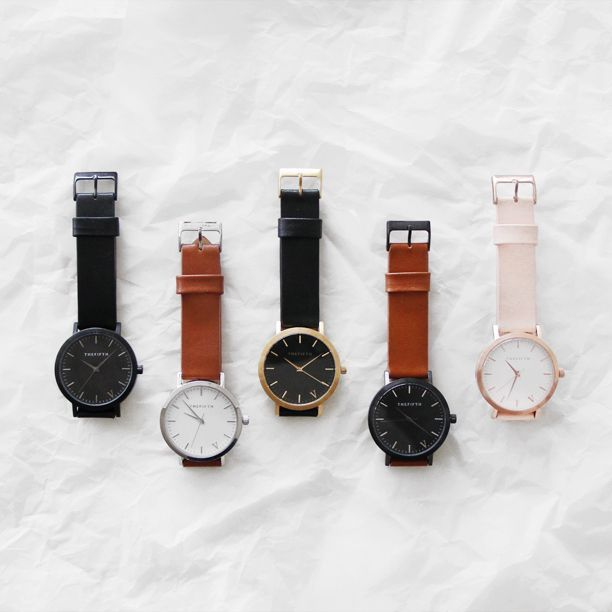 I WANT THE SECOND ONE FROM THE LEFT WITH THE TAN STRAP   WIN THE ENTIRE FIFTH WATCHES COLLECTION + $500 FOR YOUR CHARITY OF CHOICE Our friends at The Fifth Watches, are full of surprises. Just like at SMT they realise the need for a socially conscious business that values their customers and their community every step of the way. That's why today we're excited to announce the latest Fifth Giveaway and you chance to win the entire Fifth Watches collection + $500 for your charity of choice.