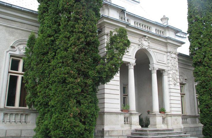 """Casă, azi Centrul de Cercetări Biologice """"Stejarul"""" (sec. XX), Piatra Neamț"""