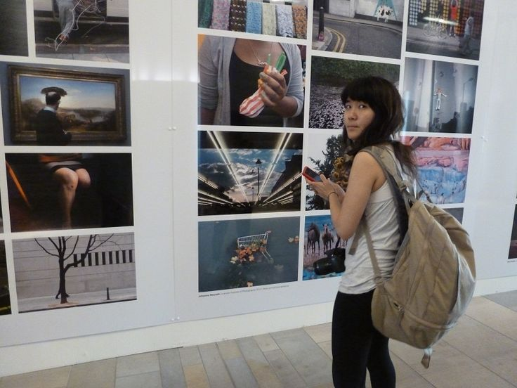 Street photography exhibition Kings Cross, London 2012