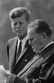 Josip  Broz Tito with John F. Kennedy