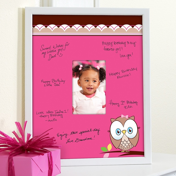 framed signature matte