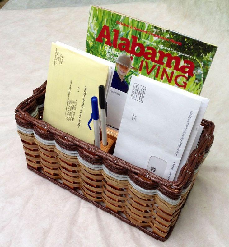Mail Organizer Basket