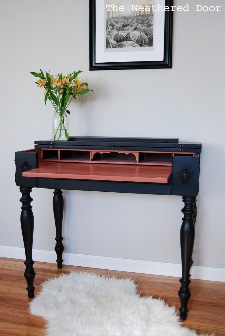 Vintage Writing Desk Makeover