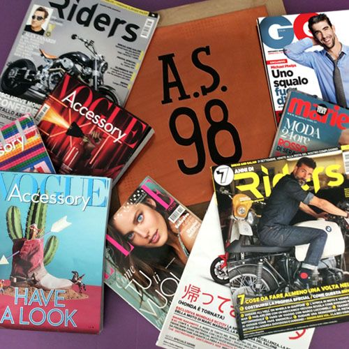 #Up3Up cura il #MediaPlanning di #AS98 e ne firma il successo. Il #PressOffice dell'agenzia di #Brescia ha lavorato alla pianificazione strategica delle pubblicazioni firmate A.S.98 sui migliori #fashionmagazine italiani e sulla testate in linea con lo stile ed il mood del brand.