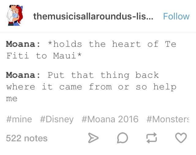 Moana Monsters Inc Disney crossover