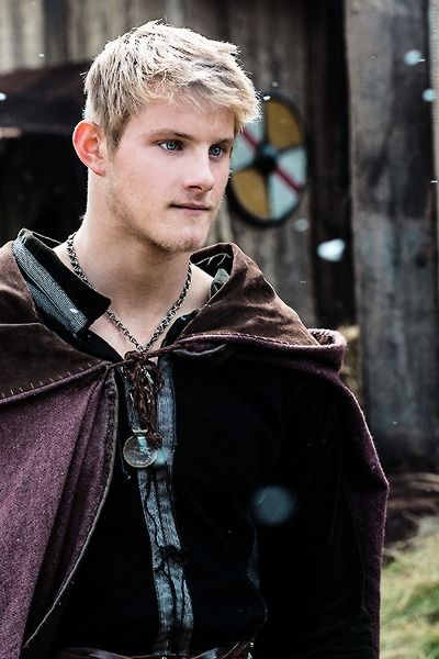"Canadian actor Alexander Ludwig as Bjorn Lothbrok (Ragnar's son) on ""Vikings"" Season. Love his character - strong, sweet and sensitive."