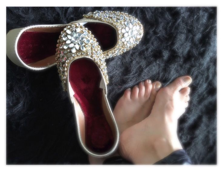 A personal favorite from my Etsy shop https://www.etsy.com/ca/listing/496097293/silver-women-shoes-flat-slippers-wedding