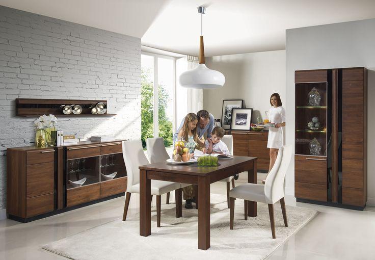 Idealne miejsce na wspólne rodzinne posiłki może wyglądać tak :) #meble #furniture #kolekcja #collection #salon #relaks #odpoczynek #inspiration #inspiracja #szynakameble #porti