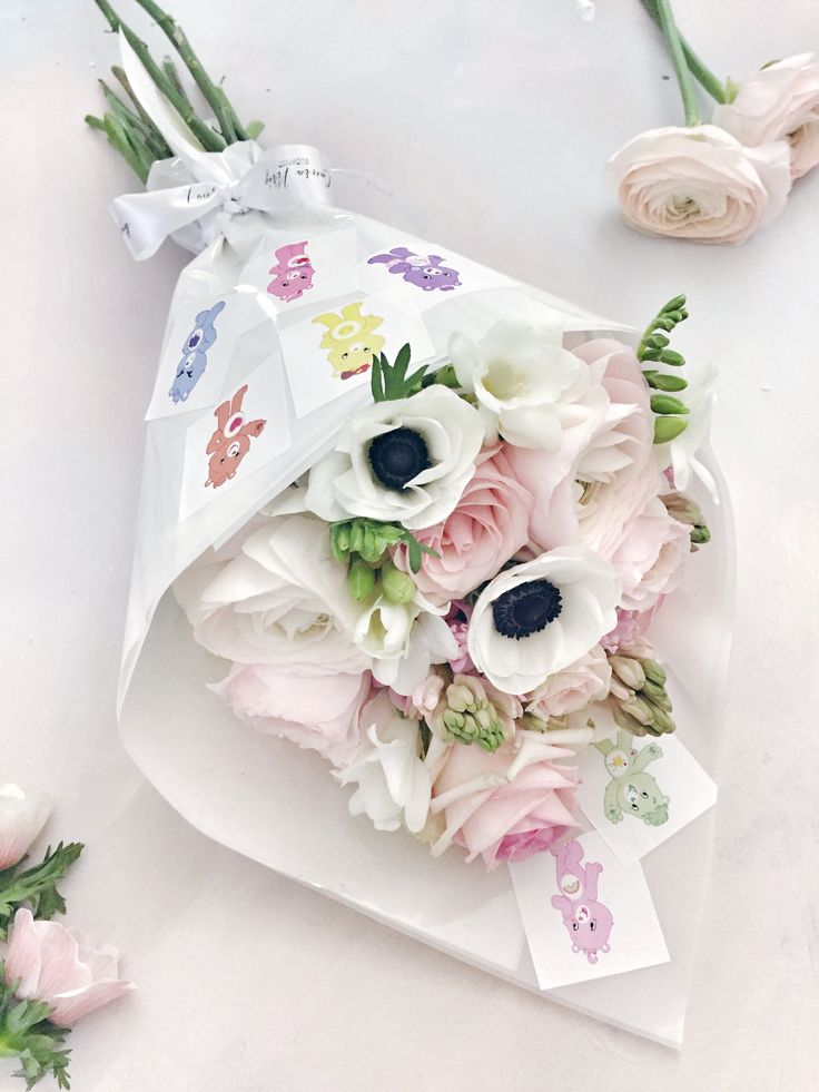 Spring Flowers , care bears