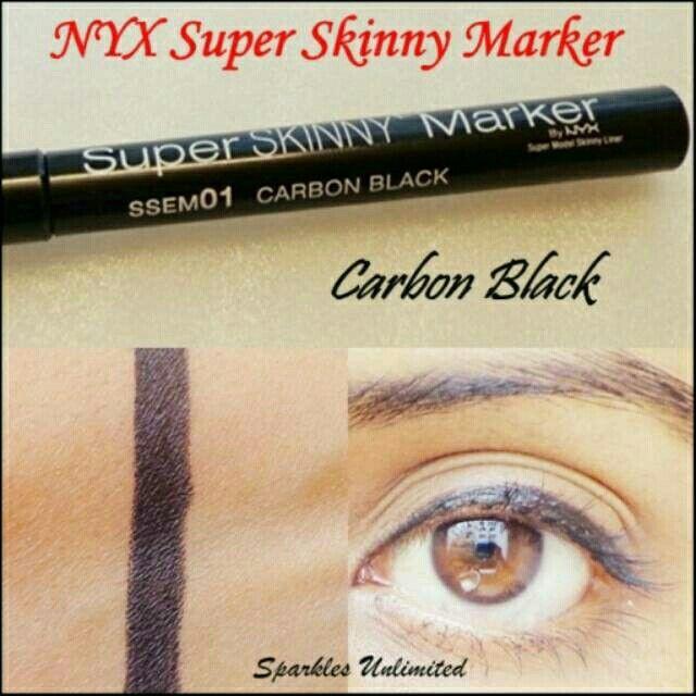 Saya menjual NYX Super Skinny Marker Eye / Eyeliner NYX Original seharga Rp215.000. Ayo beli di Shopee! https://shopee.co.id/cosmetic_hq/47952366