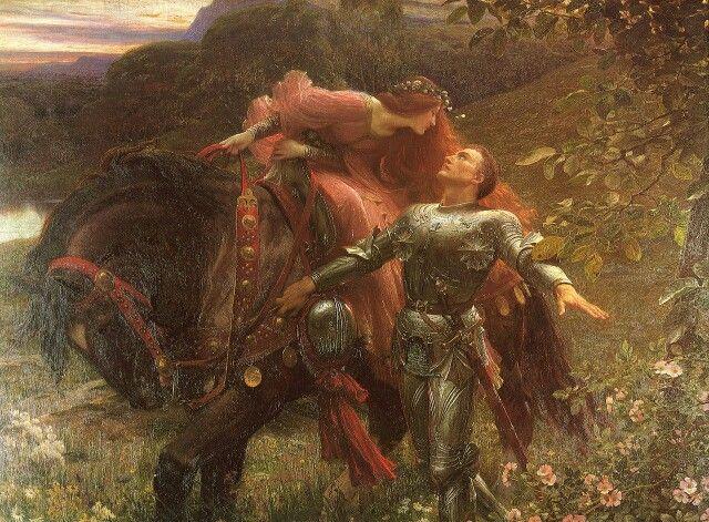 Фрэнк Бернард Дикси (Frank Bernard Dicksee; 1853-1928). Безжалостная красавица. 1890.