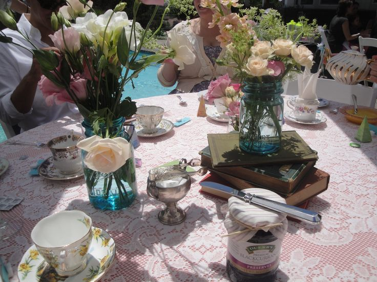 Best Tea Party Bridal Shower Ideas: 12 Best Tea Party Images By Dwuna Ebel-Tom On Pinterest