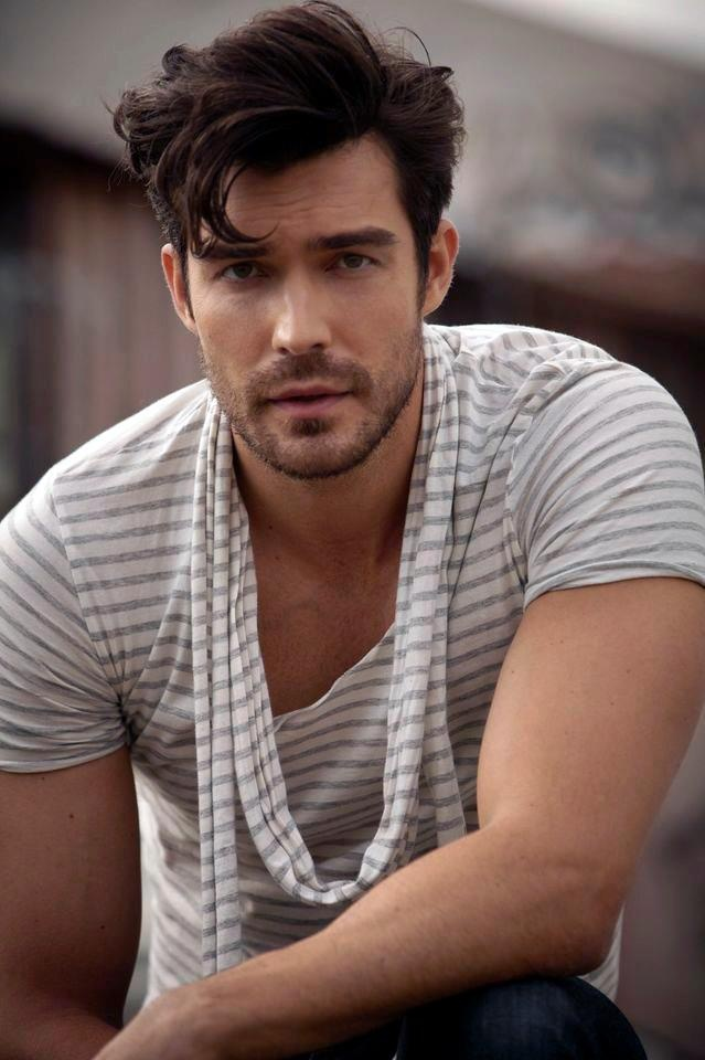 Handsome American actor Peter Porte