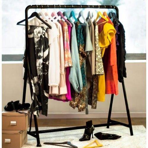 ikea turbo clothes garment rack on wheels black great as home or reta