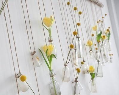 Funky Test Tube Flowers Hanging Decor Pinterest