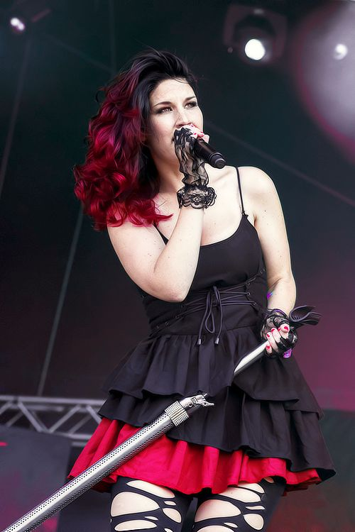 Hey, I'm Charlotte Wessels, lead singer of Delain. I'm usually found watching Netflix or singing my heart out where no one can hear me. My band is not well known, so to you I'm just another girl trying to make her way in the world. I write all my band's music and because I'm Dutch, some people make fun of my accent. I'm single, but not actively trying to find my soulmate or whatever.