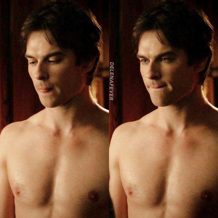 Oh damn boy . Damon Salvatore
