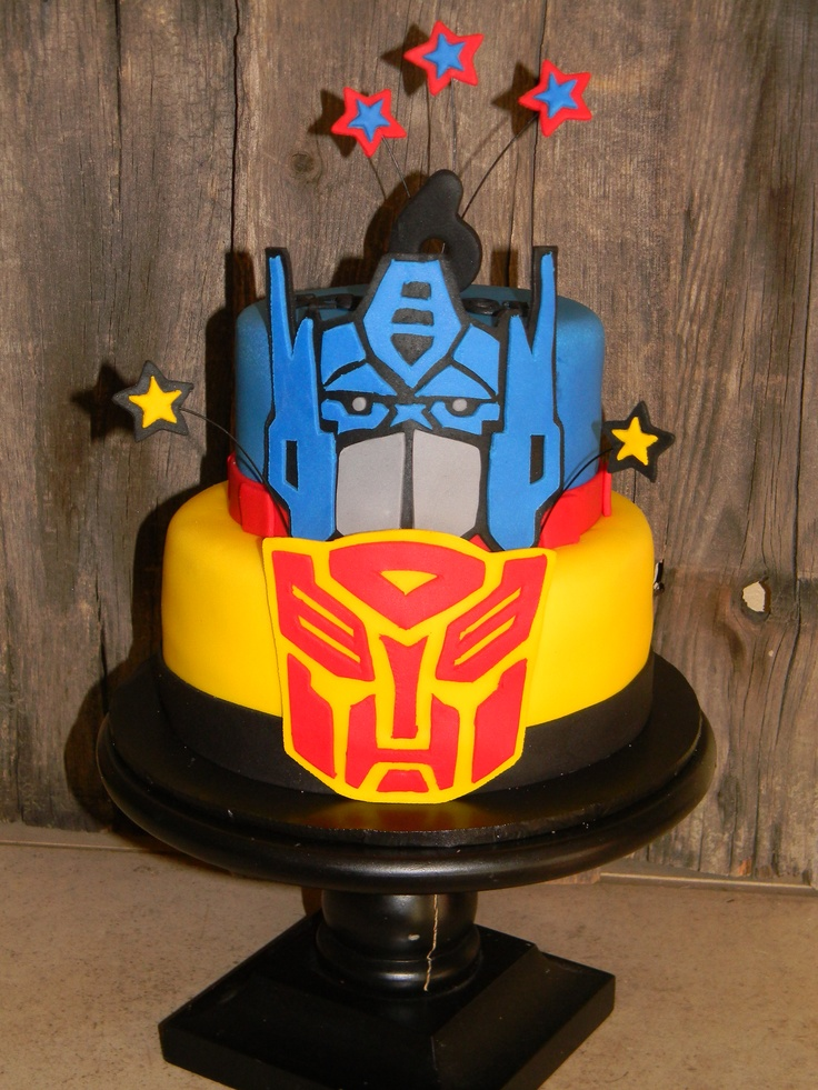 transformers birthday cake 55 best images about transformers fondant cake on 8052