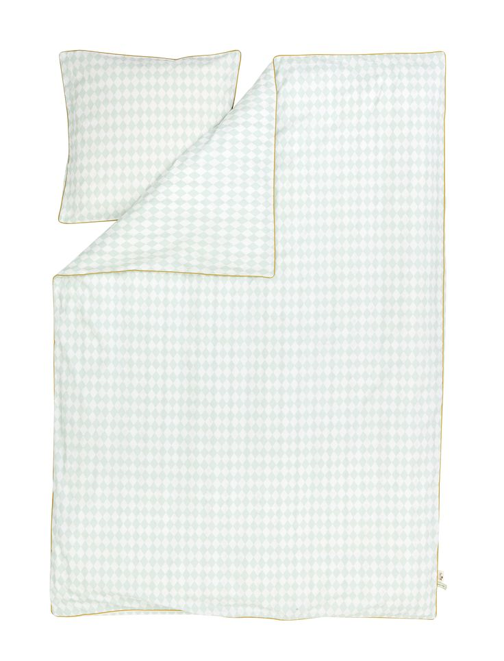 Harlequin biancheria da letto verde menta/Harlequin bedding mint adult  http://www.aitonordic.it/collections/kids/products/harlequin-biancheria-da-letto-verde-menta-adulto-ferm-living
