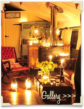 Now this is how to glamp - the Dandelion Hideaway, Leics. it was just fab ....