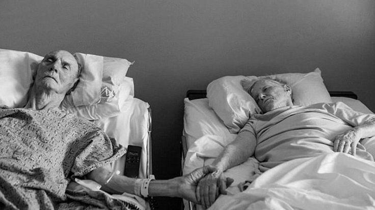 Una Pareja De Ancianos Decidió Morir Tomada De La Mano (Fotos)