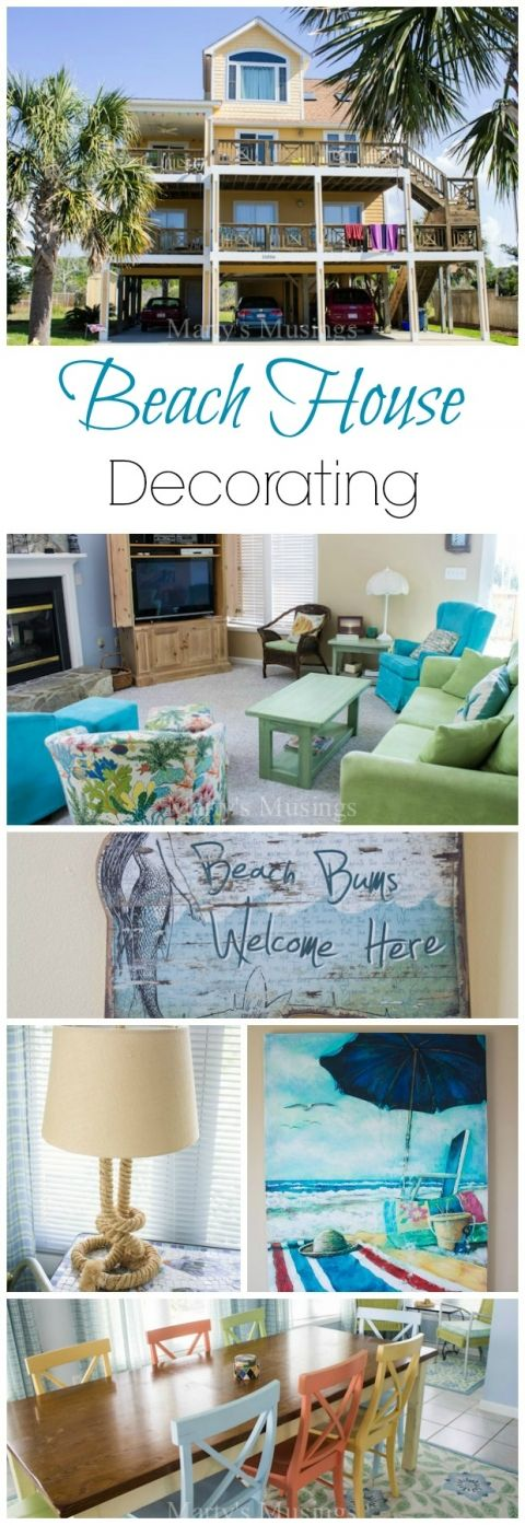 Beach House Decorating Ideas - Marty's Musings