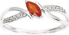 Bague Or 750 - Rubis & Oxydes