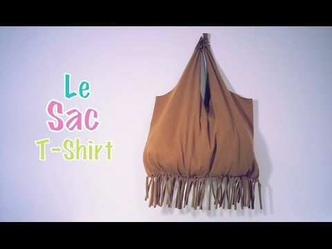DIY Recyclage Sac avec un T-Shirt, My Crafts and DIY Projects