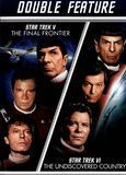 Star Trek V: The Final Frontier/Star Trek VI: The Undiscovered Country [2 Discs] [DVD], 170254