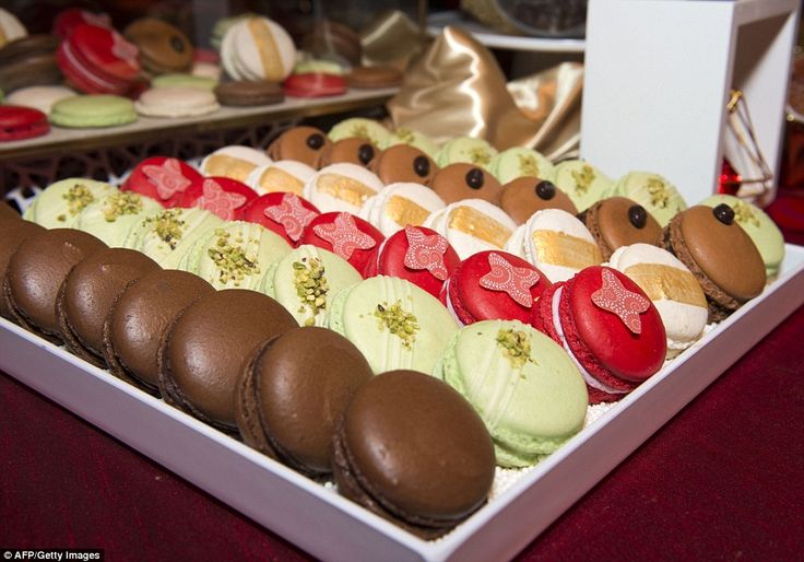 Just desserts: A dessert station will be feature macarons, chocolate , and lava cakes