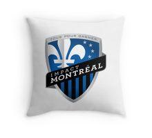 Montreal Impact Throw Pillow