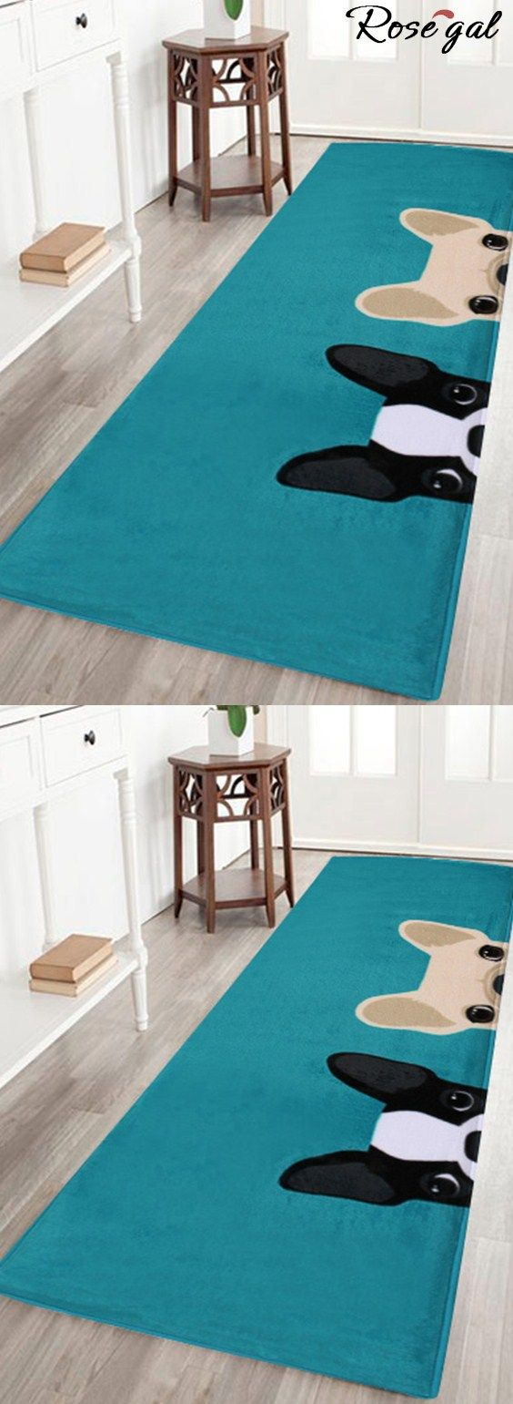 Up to 70% off.Free shipping worldwide.Puppy Head Coral Velvet Floor Area Rug - Lake Blue.the cute dogs print floor area rug makes your home more better.#rosegal #bathrug #homedecor #cute #dogs #puppy