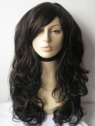 Extra Long, Black & Auburn Wig: Emily, $42.79, (http://www.annabelleswigs.co.uk/index.php?main_page=product_info&cPath=91_2_10&products_id=247)