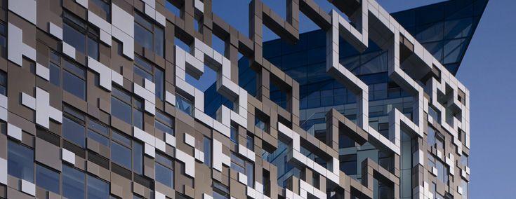 building facades -
