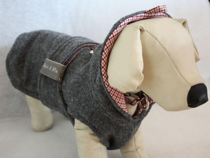 New style: wrap coat made of melange grey wool.  https://www.facebook.com/amicidialia
