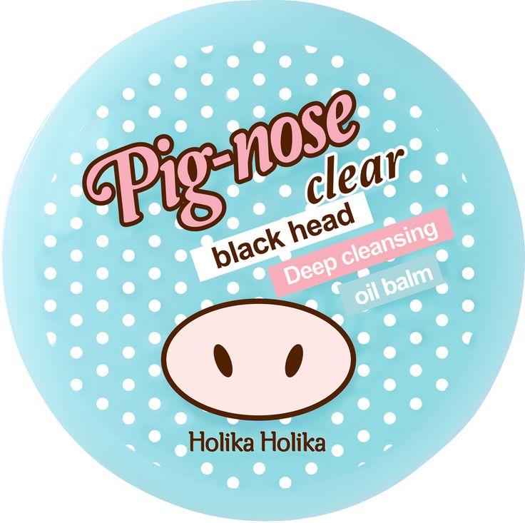 Бальзам для очистки пор «Пиг–ноуз» 30 мл. Pig-nose clear black head deep cleansing oil balm, Holika-Holika купить в интернет магазине