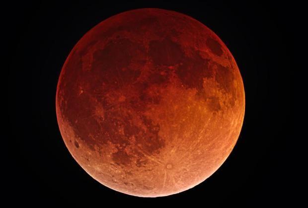 Oplev total måneformørkelse og blodmåne natten til mandag | Videnskab.dk