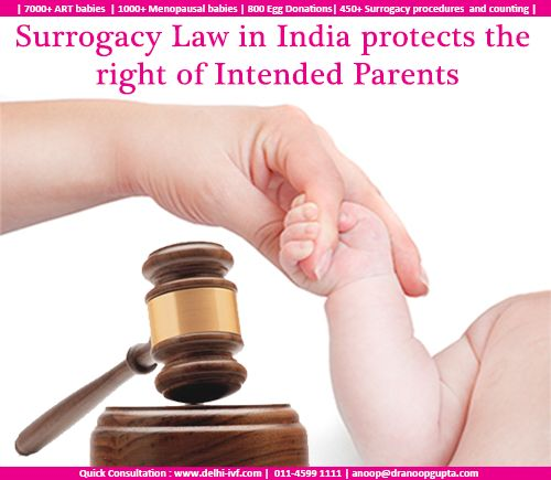 India is one country where surrogacy is legalized or this country recognizes the intended parents as a legal parent. India is known as the International Surrogacy destination by Supreme Court of India since 2002. Reach the experts @ http://delhi-ivf.com/ #surroagcy #surrogacylaw #surrogate #DIFC #ivf