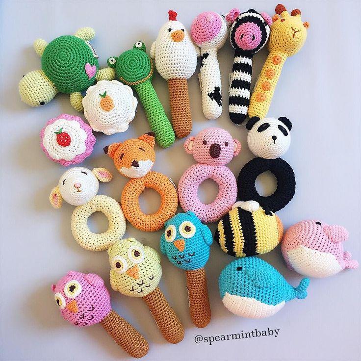 83 besten baby rattle Bilder auf Pinterest | Spielzeug, Amigurumi ...