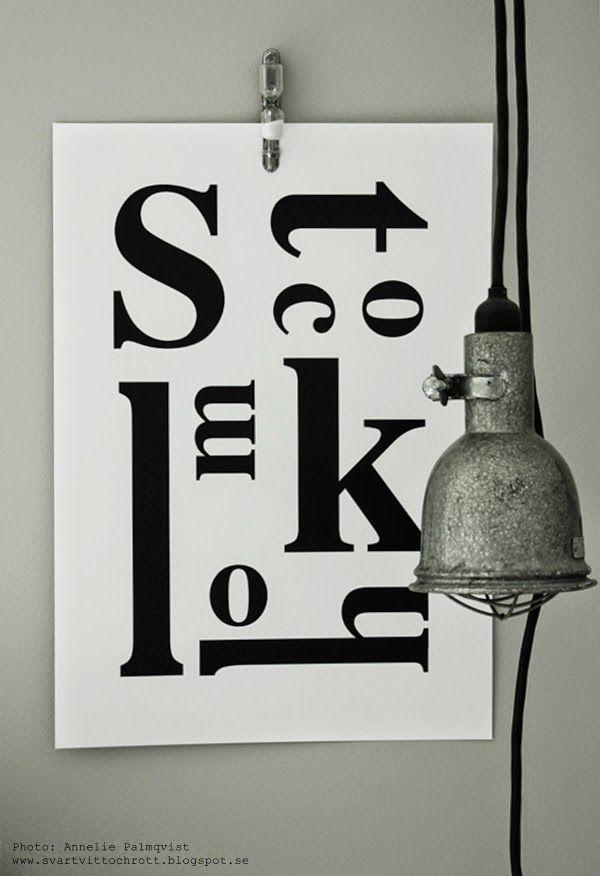Kok Tavlor Med Text : med text stockholmtavla tavla med texten stockholm stockholms tavlor