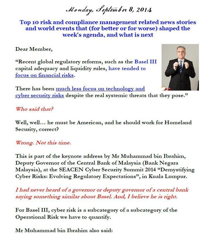 Newsletter, September 8, 2014