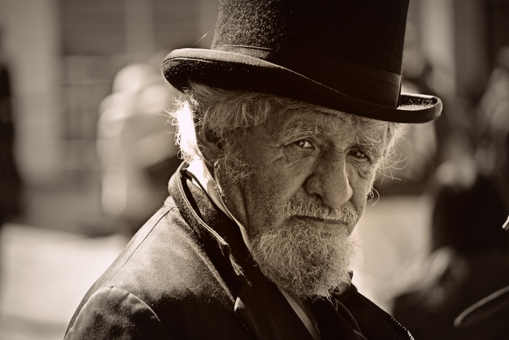 A great face at Sovereign Hill.....