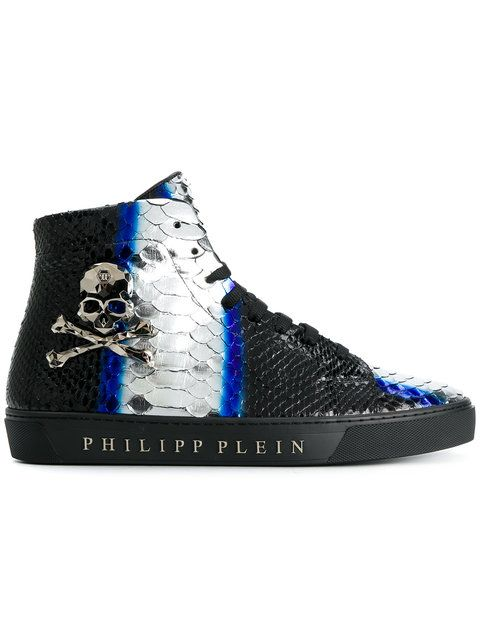 c4e062b982 PHILIPP PLEIN Disaster hi-top sneakers.  philippplein  shoes ...