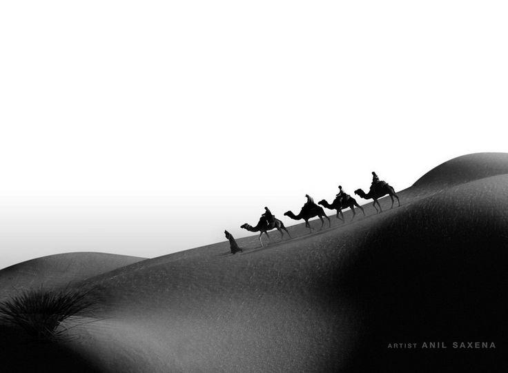 Сюрреалистические изображения Анила Саксена