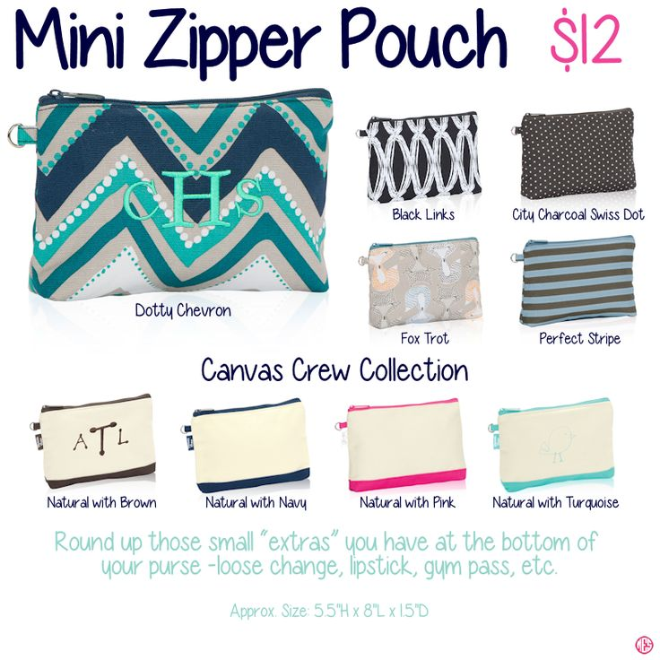Mini Zipper Pouch by Thirty-One. Fall/Winter 2015. Click to order. Join my VIP Facebook Page at https://www.facebook.com/groups/1603655576518592/