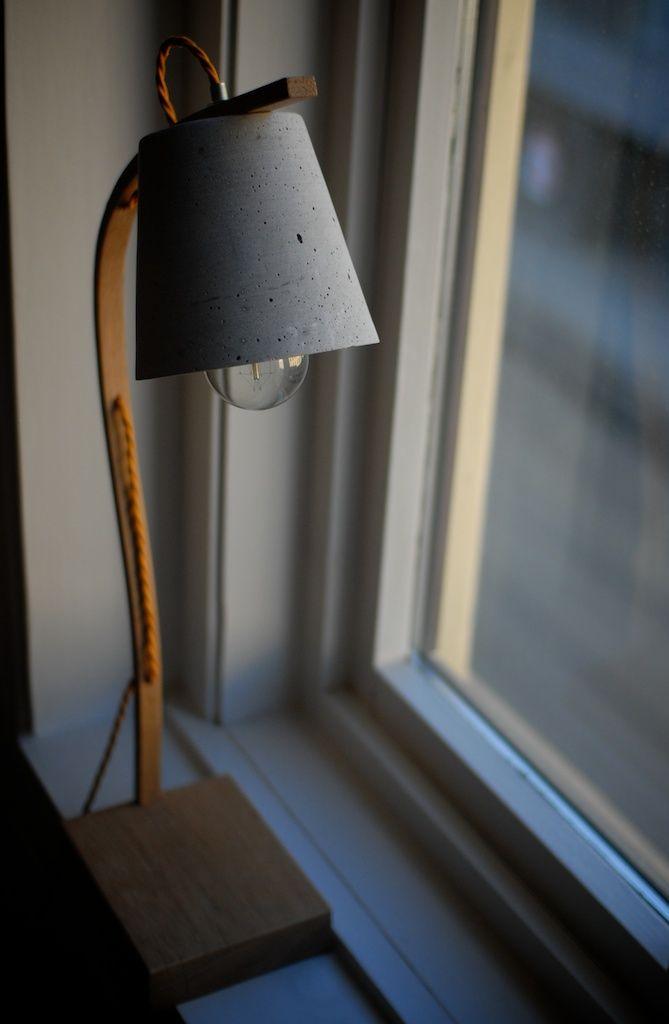 Oak | Concrete lamp | NH oslo