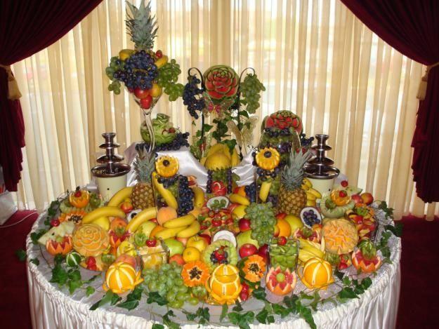 Aranjament fructe