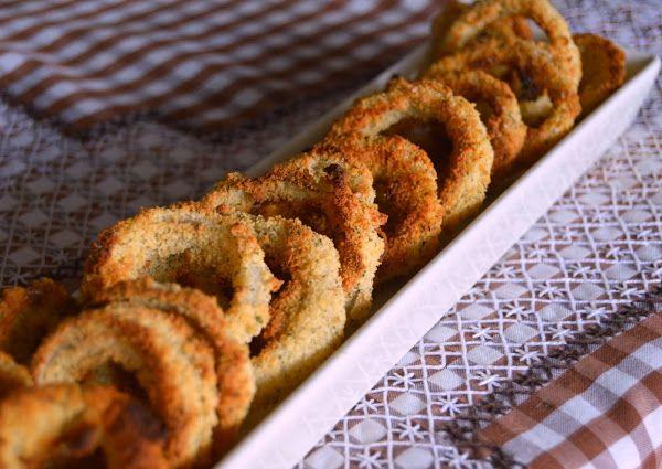Aros de cebolla al horno | Cocinar en casa es facilisimo.com