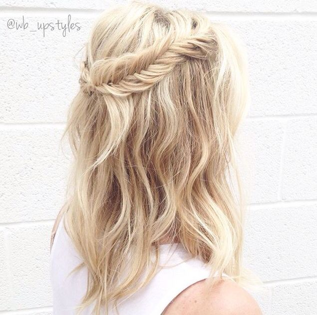 Best 10+ Fishtail Braid Hairstyles Ideas On Pinterest