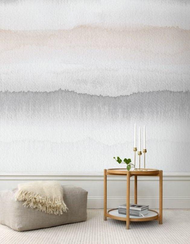 Die besten 25+ zweifarbige Wände Ideen auf Pinterest Wände in - wandgestaltung streifen ideen